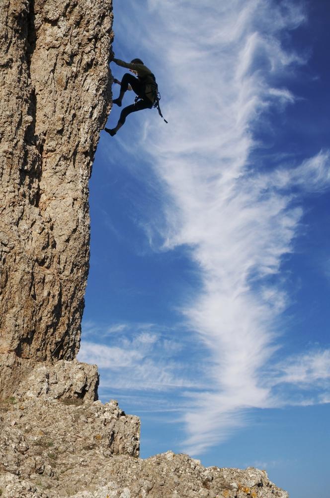 Rock Climbing In Ukraine