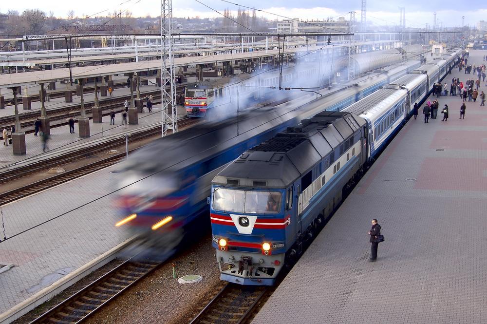 TRAIN STATIONS IN UKRAINE